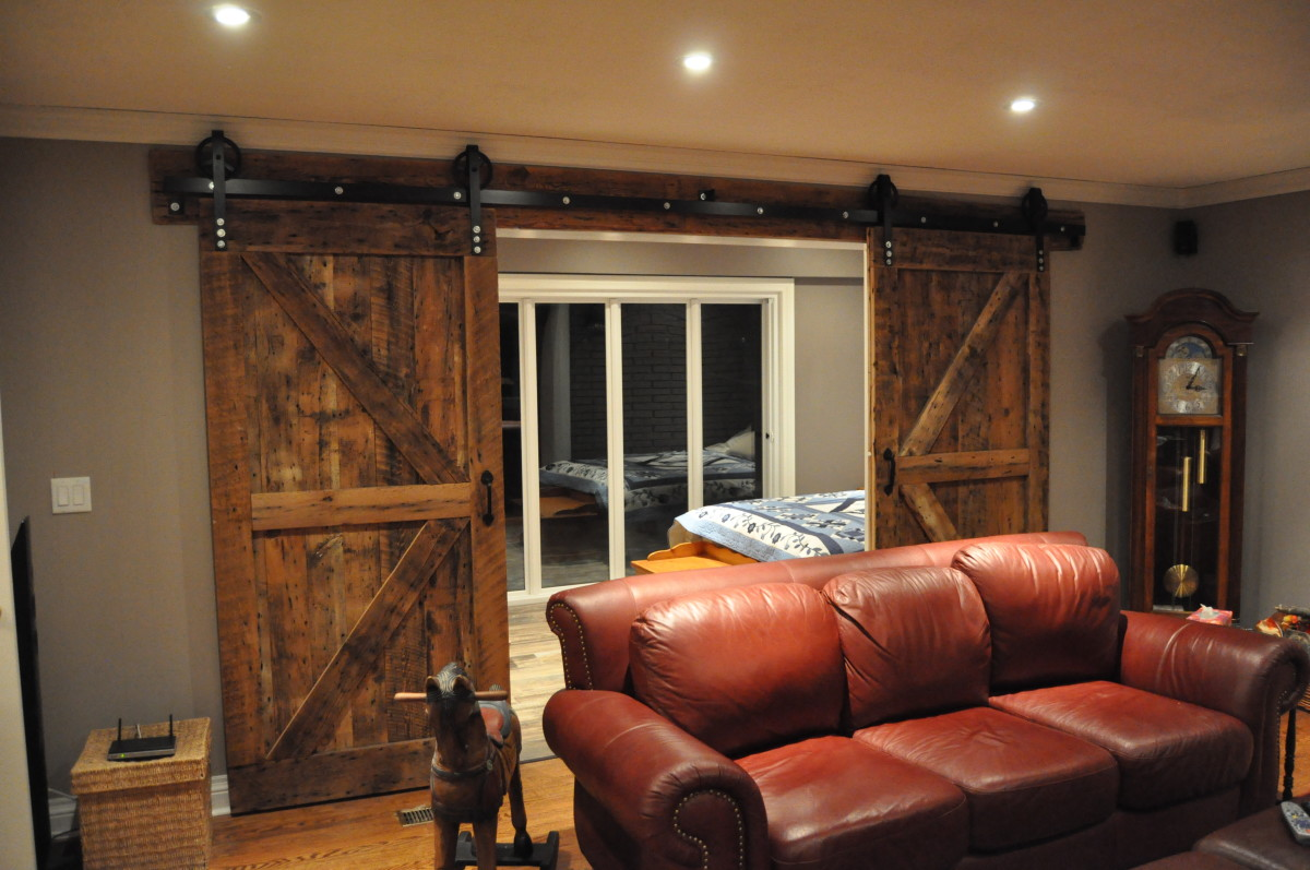 Rebarn Specializes In Custom Interior Barn Doors Right In