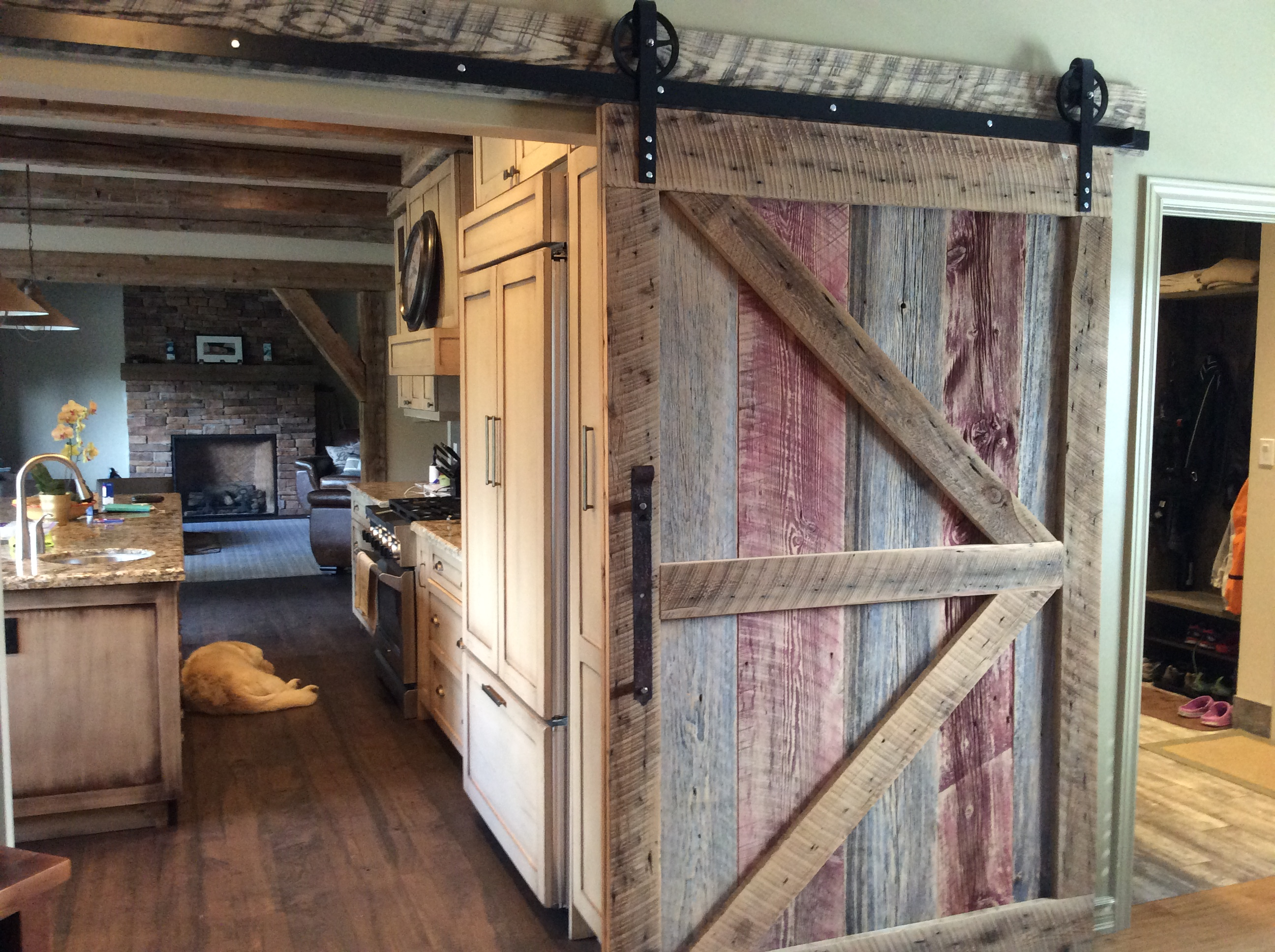 projects barn barnfinal barns furniture door sliding ana diy white