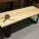 Maple Live Edge Coffee Table Goes To The Birds!