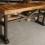 Barn Board Trestle Console Table by REBARN!