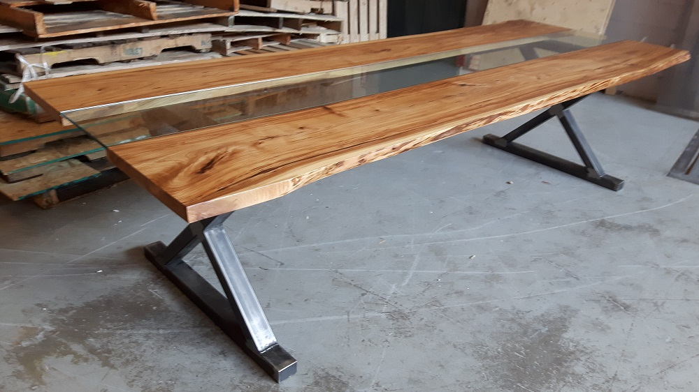 CUSTOM MADE DINING TABLES TORONTO! | Rebarn, Toronto, Sliding Barn ...